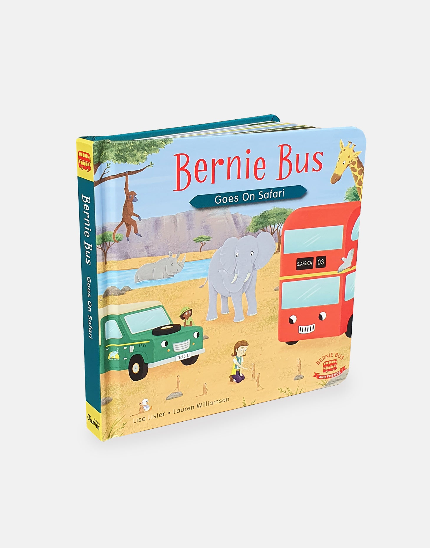 Bernie Bus goes on Safari