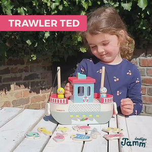 Trawler Ted & Fishing Game