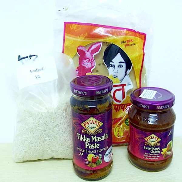 Kit Curry Hot India - savourshop.es