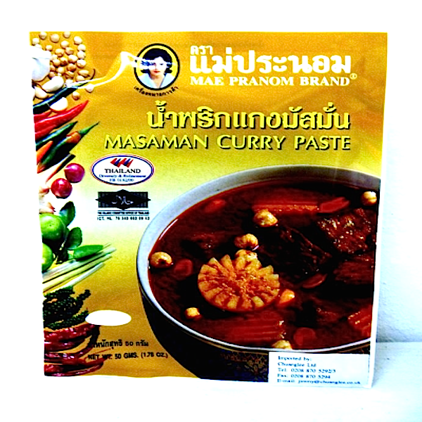 Pasta de curry Massaman 50g