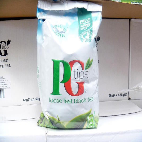 Pg tips Loose 1,5Kg - savourshop.es