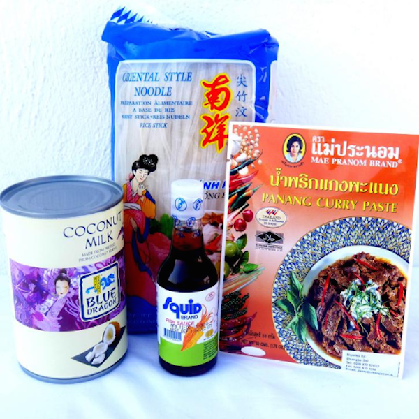 Kit curry panang para 4 - savourshop.es