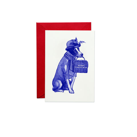 Christmas Dog Greeting Card (PACK OF 6)