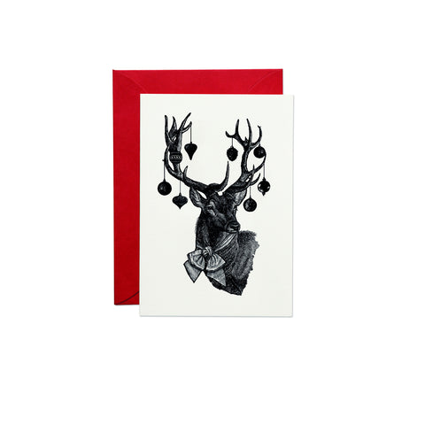 Christmas Stag Greeting Card (PACK OF 6)