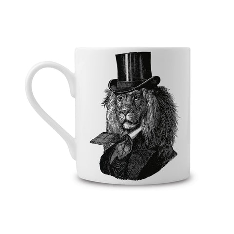 Dandy Lion Fine China Mug (PACK OF 6)