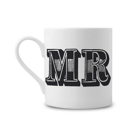 Mr Type Fine China Mug (PACK OF 6)