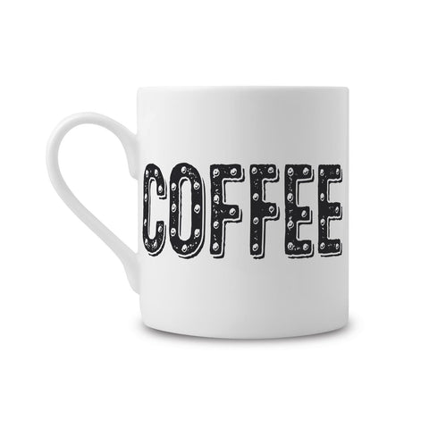 Coffee Type Fine China Mug (PACK OF 6)