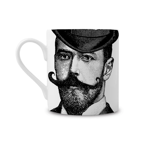 Dashing Gent Fine China Mug (PACK OF 6)