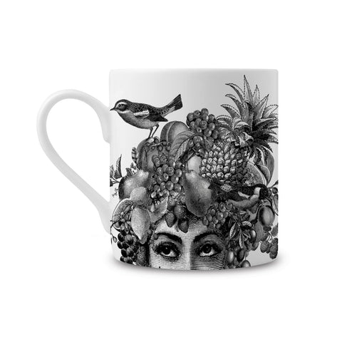 Fruit Lady Fine China Mug (PACK OF 6)