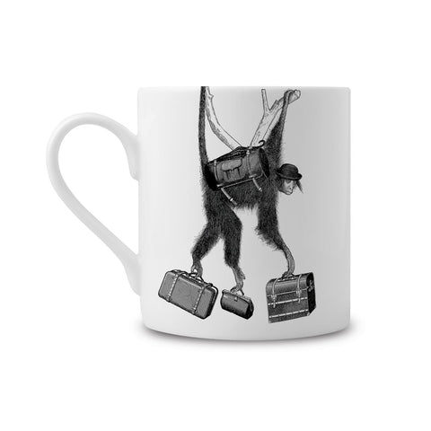Monkey Business Fine China Mug (PACK OF 6)