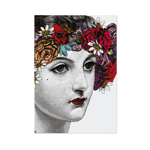 Flower Lady Note Book (PACK OF 6)