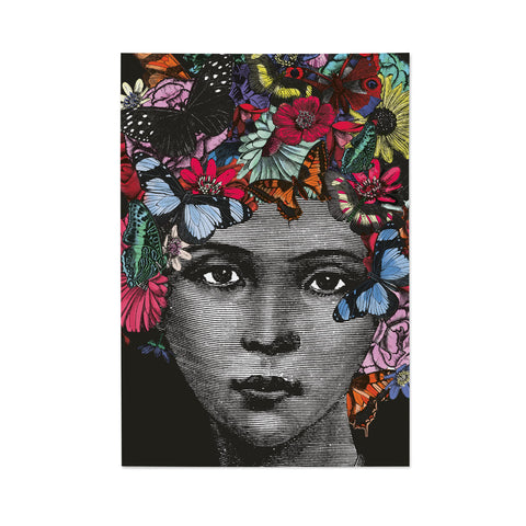 Butterfly Lady Note Book (PACK OF 6)