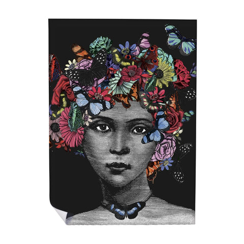 Butterfly Lady Wrapping Paper (ROLL OF 25)