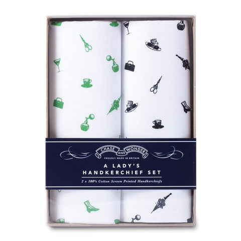 A Lady's Handkerchief Set  (PACK OF 3)