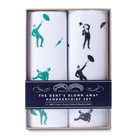 The Gentleman's Blown Away Handkerchief Set