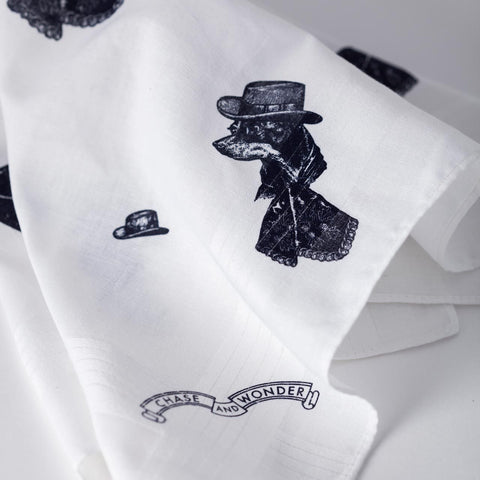 The Sophisticated Dog Handkerchief Set