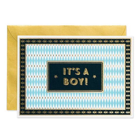 It's a Boy- Art Deco