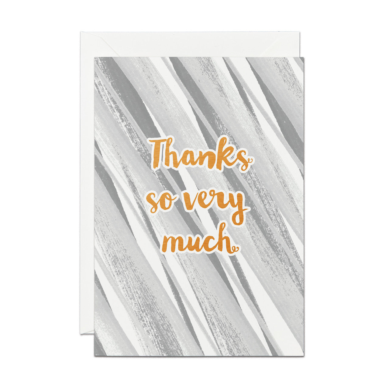 Thanks So Very Much- Copper Foil greeting card (PACK OF 6)