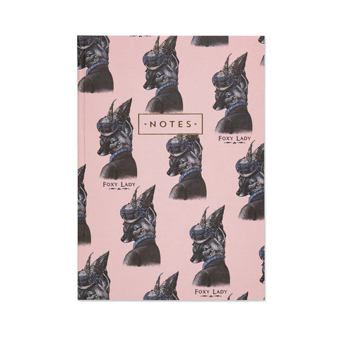 Foxy Lady Note Book