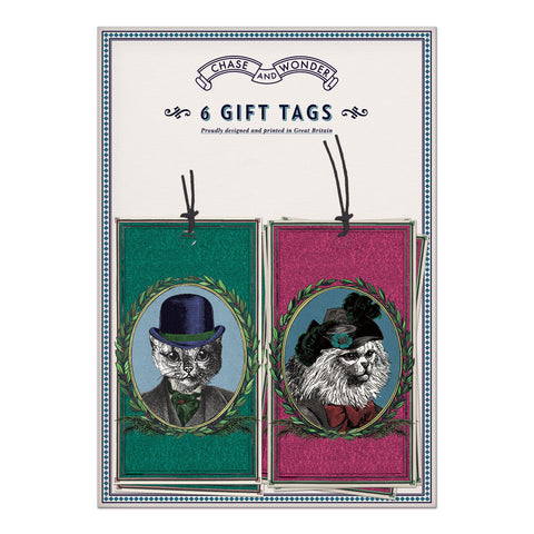 Aristocratic Cats Gift Tags