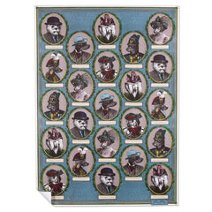 Aristocratic Dog Wrapping Paper
