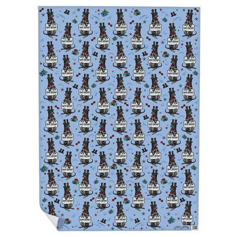 Happy Birthday Hound Wrapping Paper