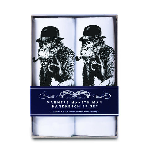 Manners Maketh Man Handkerchief Set (PACK OF 3)