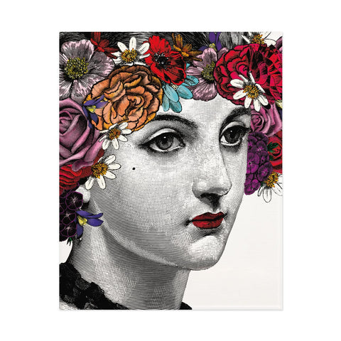 Flower Lady Print (PACK OF 3)