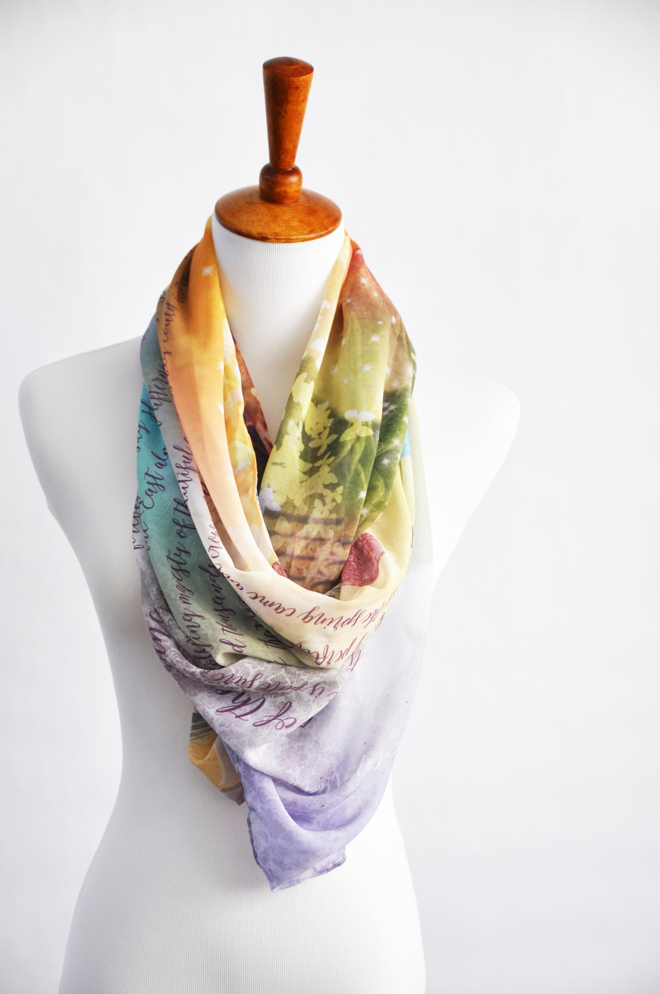 The Secret Garden Book Scarf