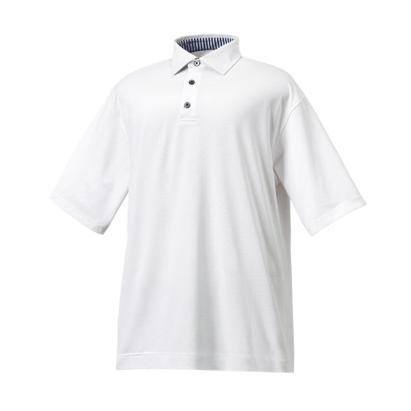 FootJoy ProDry Performance Lisle Shirt with Self Collar