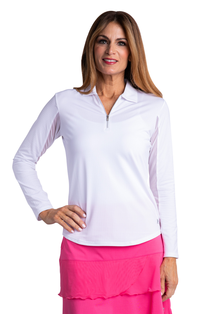 Bette & Court Cool Elements Polo<BR><B><font color = red>SALE!</b></font>