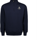 Classic Fleece Quarter Zip Pullover with Fenwick Golf Logo