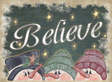 Christmas Signs - Believe