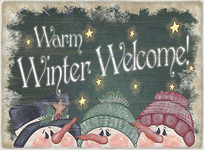 Christmas Signs - Welcome