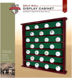 49 Golf Ball Display Cabinet