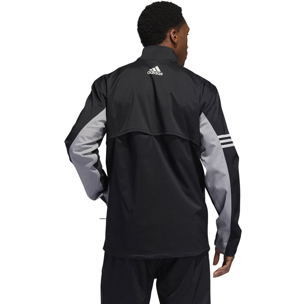 Adidas Clima Proof Jacket - Black/<BR><B><font color =red>SALE!</b></font>