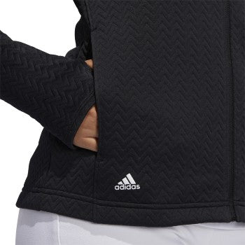 Adidas Textured Full Zip Jacket
