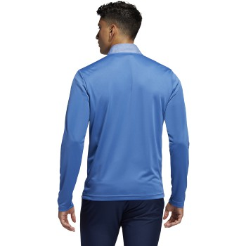Adidas Lightweight UPF 1/4 Zip-Trace Royal