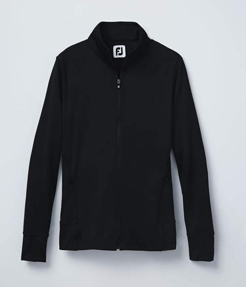 FootJoy Women's Full-Zip Panel Pocket Mid-Layer