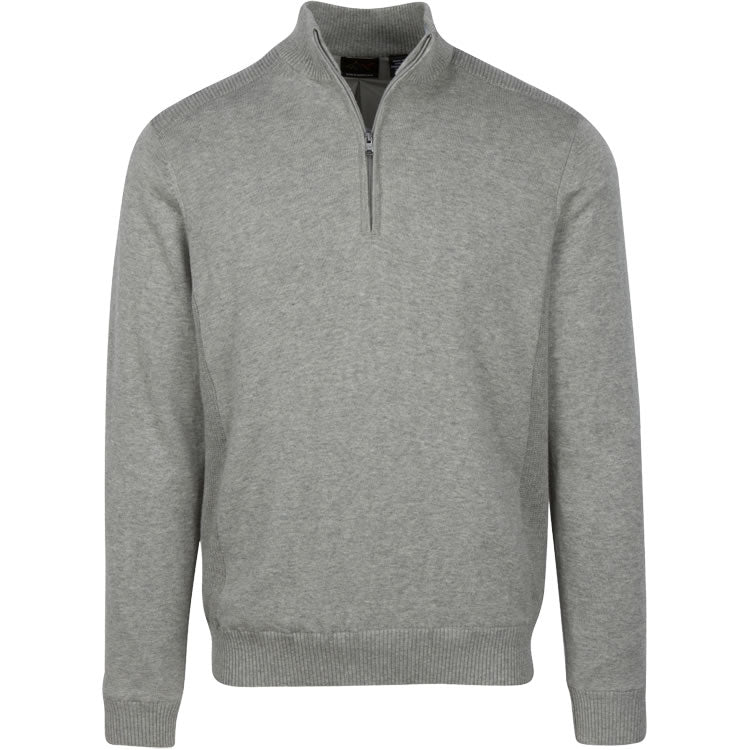 Greg Norman Lined Performance  1/4 Zip Wind Sweater