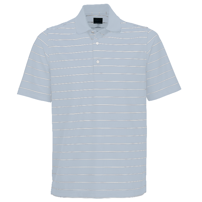 Greg Norman Micro Pique Stripe Polo