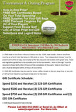 Tournament and Outing Program