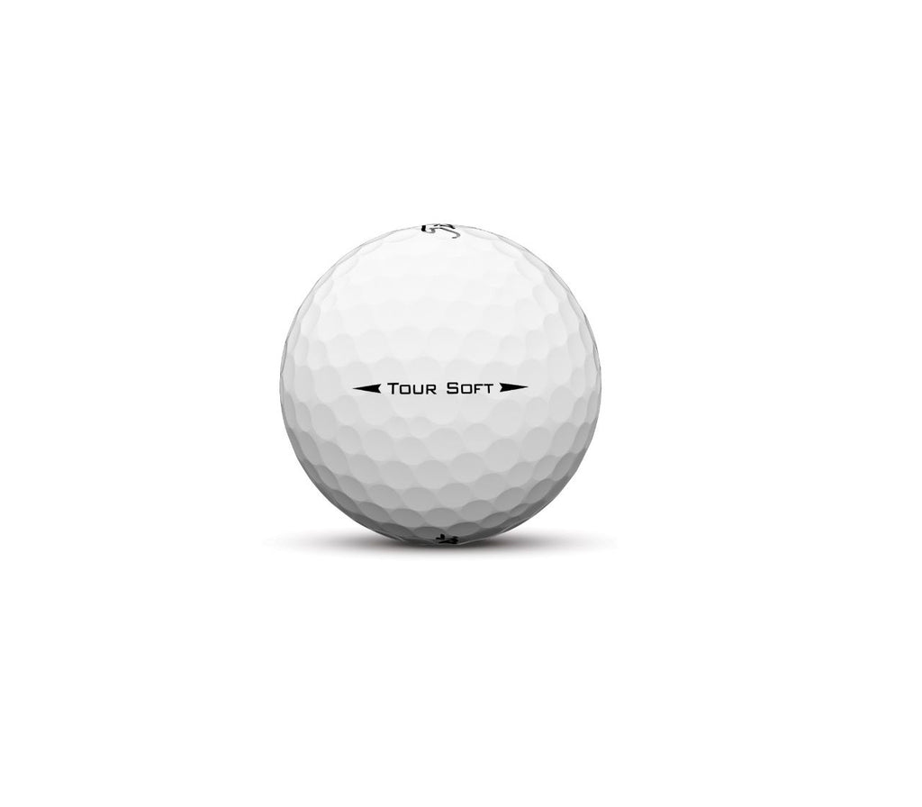 Titleist Tour Soft Golf Ball With Fenwick Logo
