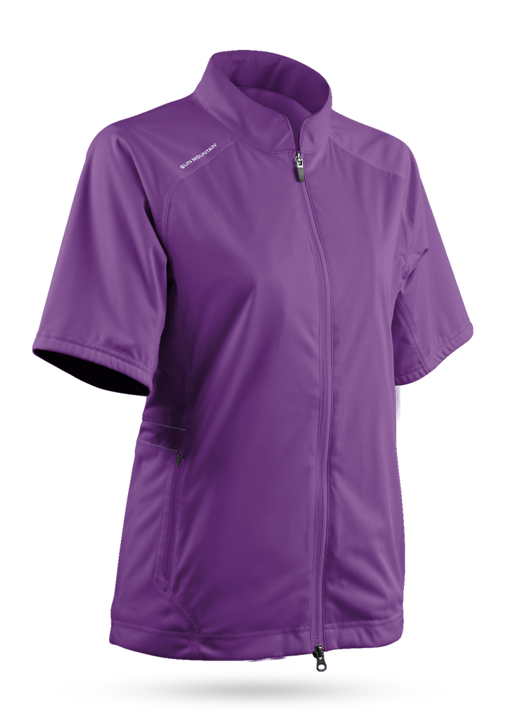 Sun Mountain Women's Short Sleeve Rainflex Jacket