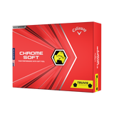 Callaway Chrome Soft - Yellow Truvis Golf Balls<BR><B><font color = red>HOLIDAY SALE!</b></font>