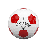 Callaway Chrome Soft - Truvis Red Golf Balls<BR><B><font color = red>HOLIDAY SALE!</b></font>