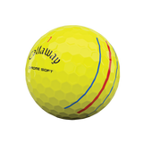 Callaway Chrome Soft Yellow Triple Track Golf Balls<BR><B><font color=red>HOLIDAY SALE!</b></font>