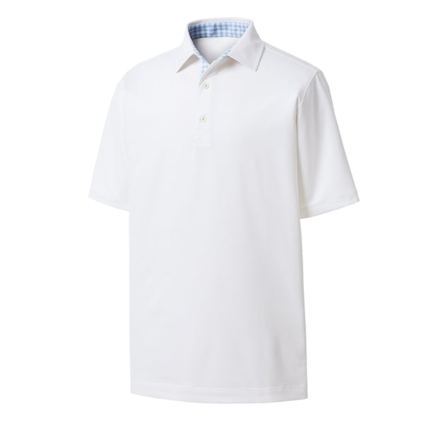 FootJoy ProDry Performance Lisle with Gingham Trim<BR>Athletic Fit