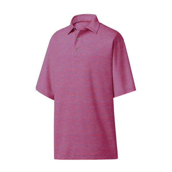 FootJoy ProDry Performance Heather Pinstripe Lisle-<BR>Self Collar