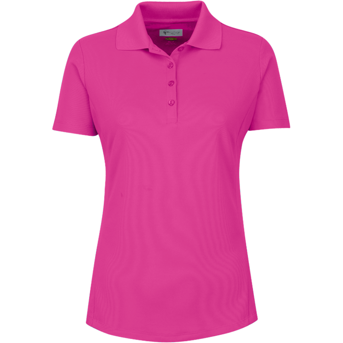 Greg Norman Women's Short Sleeve Pro Tek Polo<BR><B><font color = red>SALE!Previous Season's Colors</b></font>